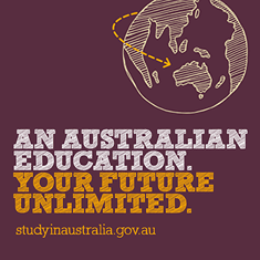 An Australian education. Your future unlimited. studyinaustralia.gov.au